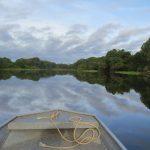 Navegando por e río Amazonas