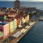 Atardecer en la ciudad de Willemstad