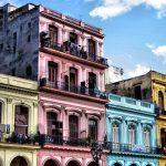 Calles coloridas de La Habana