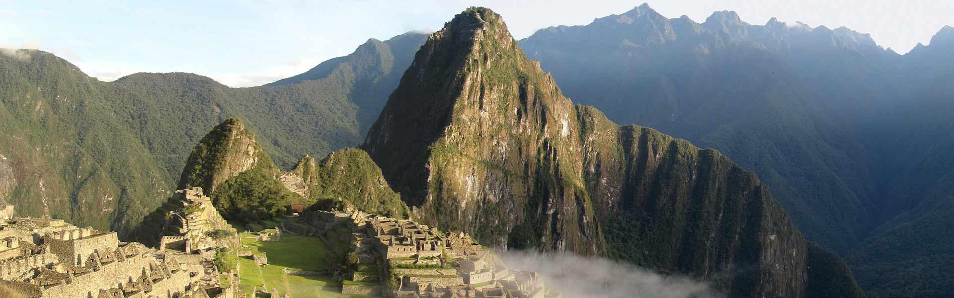 Panorámica de Machu Picchu Perú