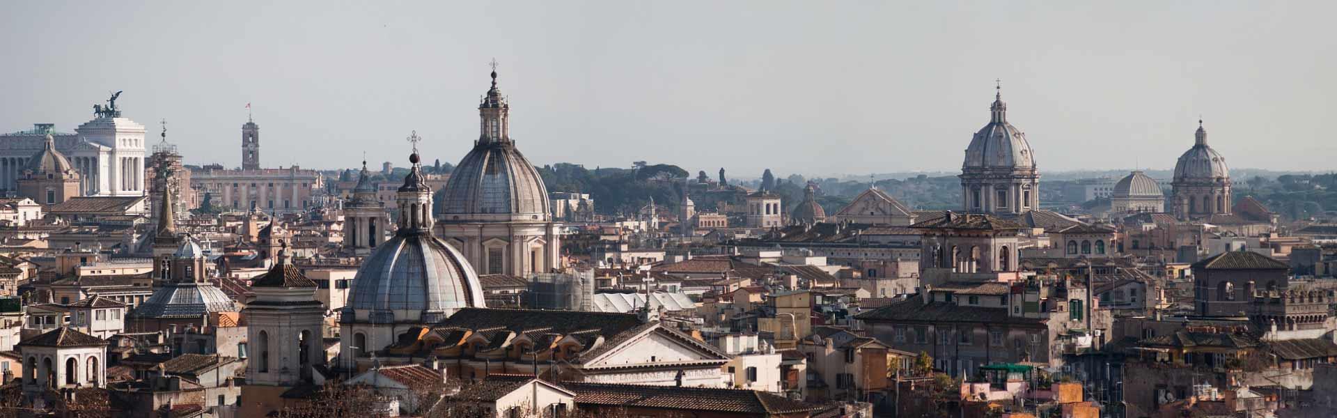 Panorámica de la ciudad de Roma