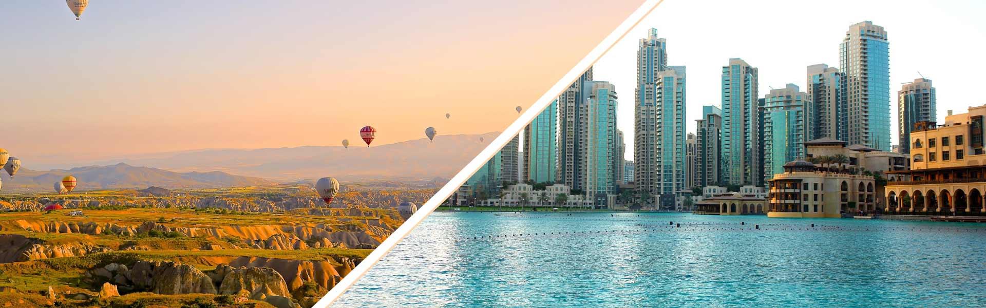 Viaja a Dubái y Turquía
